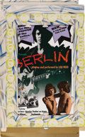 "Music Memorabilia:Posters, Lou Reed ""Berlin"" 3-D Stand Up In-Store Display (RCA, 1973). LouReed was never one to play by the rules. He followed up hi...(Total: 1 Item)"