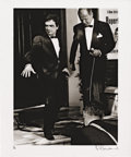 "Movie/TV Memorabilia:Photos, Dudley Moore Photo by Philip Townsend. A b&w 20"" x 24"" photo ofthe late comedic actor on the set of 30 is a Dangerous Age...(Total: 1 Item)"