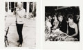 "Movie/TV Memorabilia:Photos, Princess Grace and Alec Guinness Photo Group by Philip Townsend. Two black and white photo prints, both approximately 20"" x ... (Total: 2 Item)"