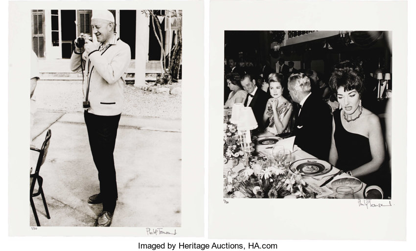 Movie tv memorabiliaphotos princess grace and alec guinness photo group by philip
