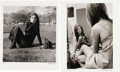 "Movie/TV Memorabilia:Photos, Charlotte Rampling Photo by Philip Townsend. A hauntingly beautifulb&w 20"" x 24"" photo of the British actress taken in the ...(Total: 1 Item)"