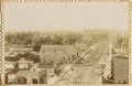 Photography:Cabinet Photos, BIRD'S-EYE VIEW OF SANTA ANA, CALIFORNIA - CABINET CARD - circa1895. An early Santa Ana, California rural town view showing...(Total: 1 Item)