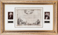 Autographs:U.S. Presidents, George Washington Society of the Cincinnati Membership CertificateSigned...