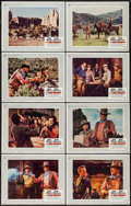 """Movie Posters:Western, The War Wagon (Universal, 1967). Lobby Card Set of 8 (11"""" X 14"""").Western.. ... (Total: 8 Items)"""