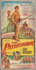 "Movie Posters:Adventure, The Pathfinder (Columbia, 1952). Three Sheet (41"" X 78"") &Lobby Cards (6) (11"" X 14""). Adventure.. ... (Total: 7 Items)"