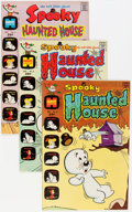 Bronze Age (1970-1979):Humor, Spooky Haunted House File Copies Group (Harvey, 1972-75) Condition:Average NM-.... (Total: 42 Comic Books)
