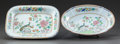 Ceramics & Porcelain, British, TWO SPODE SERVING DISHES. 19th century. Marks: SPODE Stone China, 2118. 1-1/4 inches high x 10-1/2 inches wide (3.2 x 26... (Total: 2 Items)