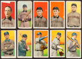 Baseball Cards:Lots, 1909-11 T206 White Borders Group (10) - Pittsburgh Pirates. ...