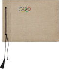 Miscellaneous Collectibles:General, 1936 Berlin Olympic Scrapbook, With Ticket Stubs, Postcards,Photographs, Etc....
