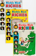 Bronze Age (1970-1979):Humor, Richie Rich Riches File Copy Short Box Group (Harvey, 1972-82) Condition: Average NM-....