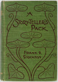 Books:Literature Pre-1900, Frank R. Stockton. A Story-teller's Pack. Cassell and Co., 1897. Contemporary cloth binding. Hinges starting. Spine ...