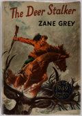 Books:First Editions, Zane Grey. The Deer Stalker. New York: Harper & Brothers, 1949. First edition, first printing. Original price of $2....