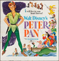 "Movie Posters:Animation, Peter Pan (Buena Vista, R-1958). Six Sheet (81"" X 81""). Animation.. ..."