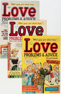 Golden Age (1938-1955):Romance, True Love Problems and Advice Illustrated/Romance Stories of TrueLove File Copies Group (Harvey, 1949-58) Condition: Average...(Total: 50 Comic Books)