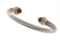 Citrine, Silver Bracelet, David Yurman