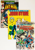 Bronze Age (1970-1979):Miscellaneous, Bronze Age John Byrne Related Group (Various Publishers, 1970s)Condition: Average VF.... (Total: 18 Items)