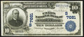 National Bank Notes:West Virginia, Clarksburg, WV - $10 1902 Plain Back Fr. 624 The Union NB Ch. # (S)7681. ...