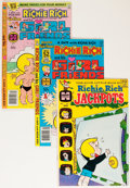 Bronze Age (1970-1979):Humor, Richie Rich Jackpots/Richie Rich and His Girlfriends File Copies Box Lot (Harvey, 1967-81) Condition: Average NM-....
