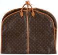 Luxury Accessories:Travel/Trunks, Louis Vuitton Classic Monogram Garment Bag with Hangers. ...