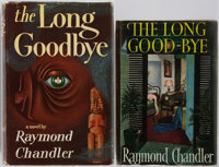 Raymond Chandler. Group of Two: The Long Goodbye. Houghton & Mifflin and Hamish Hami