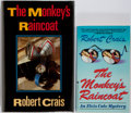 Books:Signed Editions, Robert Crais. SIGNED. Group of Two The Monkey's Raincoat. Bantam Books and Piatkus. The hardcover is a first UK... (Total: 2 Items)