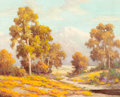 American:Regional, HERBERT SARTELLE (American, 1885-1955). CaliforniaLandscape. Oil on canvas. 16 x 20 inches (40.6 x 50.8 cm).Signed low...
