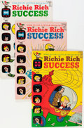 Silver Age (1956-1969):Humor, Richie Rich Success Stories File Copies Box Lot (Harvey, 1965-82) Condition: Average VF/NM....