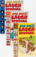 Silver Age (1956-1969):Humor, Sad Sack Laugh Special #2-93 File Copies Box Lot (Harvey, 1958-77) Condition: Average VF/NM....