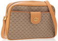 Luxury Accessories:Bags, Gucci Beige Monogram Canvas and Leather Shoulder Bag with RemovableWallet. ...