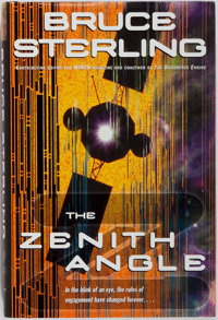 [Science Fiction]. Bruce Sterling. SIGNED. The Zenith Angle. New York: Ballantine Books, 2004