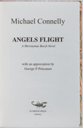 Books:Mystery & Detective Fiction, Michael Connelly. SIGNED/LIMITED. Angels Flight. Scorpion,1998. Limited to 115 numbered and signed copies. Publ...
