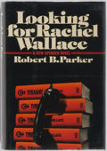 Books:Mystery & Detective Fiction, Robert B. Parker. SIGNED. Looking for Rachel Wallace.Delacorte/Seymour Lawrence, 1980. First edition, first printin...