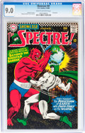 Silver Age (1956-1969):Horror, Showcase #61 The Spectre! (DC, 1966) CGC VF/NM 9.0 Cream tooff-white pages....