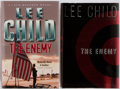 Books:Mystery & Detective Fiction, Lee Child. SIGNED. The Enemy. Group of Two Books Includesthe American and British First Edition, First Printings.... (Total:2 Items)