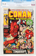 Bronze Age (1970-1979):Adventure, Conan the Barbarian #3 and 10 CGC-Graded Group (Marvel, 1971).... (Total: 2 Comic Books)