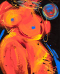 American:Modern, ALBERTO FRIE (American, 20th Century). Abstract Woman, 1998.Oil on panel. 31-1/2 x 25 inches (80.0 x 63.5 cm). Signed a...