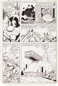 Original Comic Art:Panel Pages, Rick Hoberg and Larry Houston Captain Carrot and His Amazing ZooCrew #19 Page 19 Original Art (DC, 1983)....