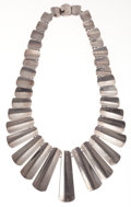 Estate Jewelry:Necklaces, Silver Necklace. ...