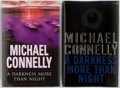 Books:Mystery & Detective Fiction, Michael Connelly. SIGNED. A Darkness More Than Night. Groupof Two Books Includes the American and British First E... (Total: 2Items)