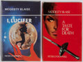 Books:Mystery & Detective Fiction, Peter O'Donnell. Group of Two Modesty Blaise Books IncludesI, Lucifer and A Taste for Death.... (Total: 2 Items)