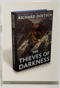 Books:Mystery & Detective Fiction, Richard Doetsch. SIGNED. The Thieves of Darkness. Atria, 2010.Early Readers edition, first printing and in a promotional dj. ...
