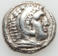 Ancients:Greek, Ancients: MACEDONIAN KINGDOM. Alexander III the Great (336-323 BC).AR tetradrachm (16.72 gm)....