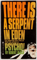 Books:Horror & Supernatural, Robert Bloch. SIGNED. There Is a Serpent in Eden. Zebra, 1979. First edition [PBO], first printing. Signed by the author on ti...