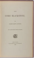 Books:Literature Pre-1900, Gilbert Abbot Beckett. George Cruikshank, illustrator. The Comic Blackstone. Chicago: Callaghan & Cockcroft, 1869. C...