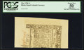 Colonial Notes:Rhode Island, Rhode Island May 1786 1s PCGS Apparent About New 50.. ...