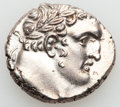 Ancients:Greek, Ancients: PHOENICIA. Tyre. 126/5 BC-AD 65/6. AR shekel (14.58 gm)....