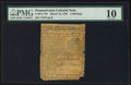 Colonial Notes:Pennsylvania, Pennsylvania March 10, 1769 2s PMG Very Good 10.. ...
