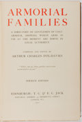 Books:Reference & Bibliography, Arthur Charles Fox-Davies. Armorial Families. Edinburgh: T.C. & E. C. Jack, 1902. Contemporary binding. Moderate ru...