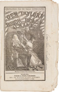 Miscellaneous:Booklets, [Zachary Taylor] and [Mexican War]. General Taylor's Rough and Ready 1847 Almanac....