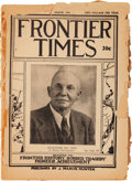 Miscellaneous:Ephemera, [Ira Aten] and [A. J. Sowell]. J. Marvin Hunter's Frontier TimesMagazine....
